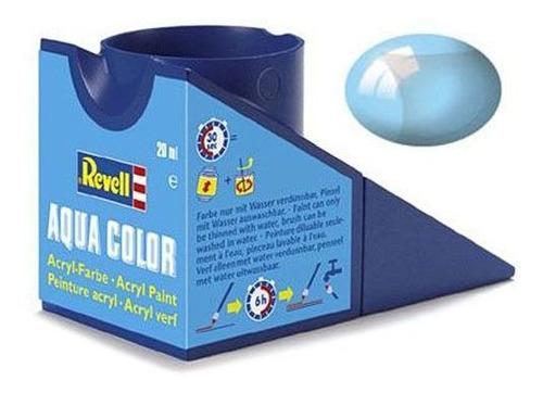 Imagem 1 de 1 de Tinta Acrílica Aqua Color Blue Clear Revell