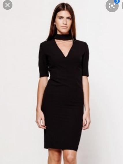 Vestido Negro Las Oreiro