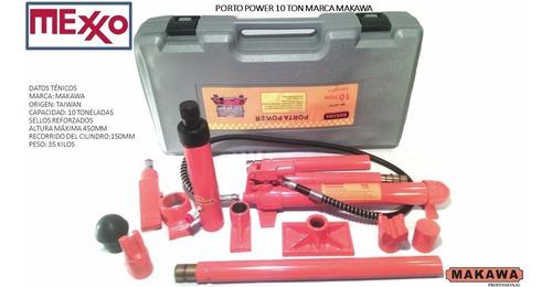 Porto Power 10 Toneladas Marca Makawa