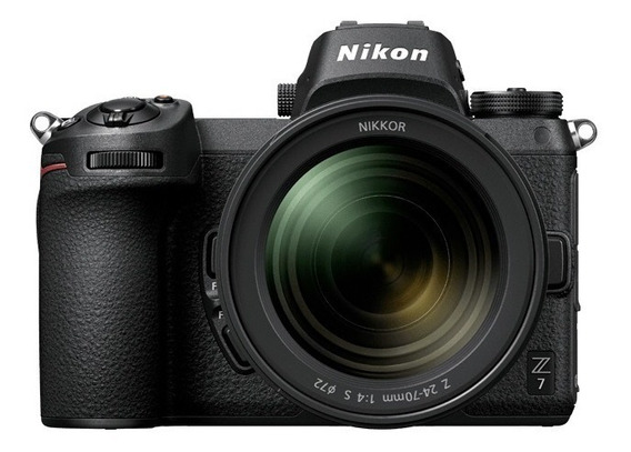 Camara Mirrorless Nikon Z7 Kit 24-70mm 45mp 4k Garantia Ofic