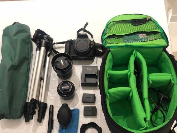 Canon T6 Com Wifi + Kit Muito Conservado
