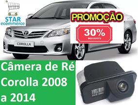 Câmera De Ré Toyota Corolla08 2009 2010 2011 2012 2013 2014