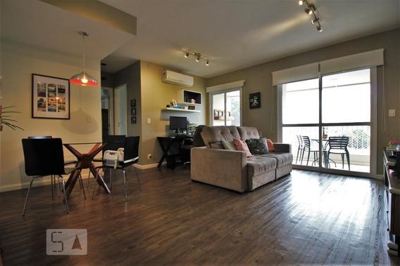Apartamento No 9º Andar Com 2 Dormitórios E 2 Garagens - Id: 892947747 - 247747