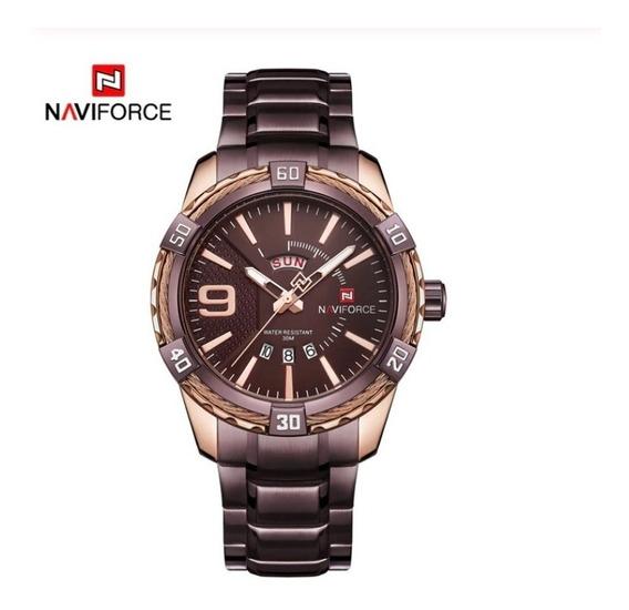 Relógio Naviforce Aço Inox Nf9117