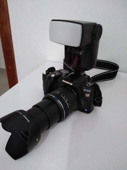 Camera Semi Profissional Olimpus E-510