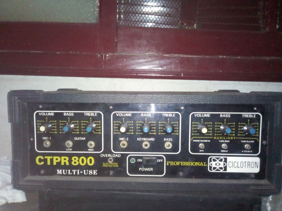 Amplificador Ciclotron Ctpr 800
