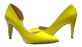 Libre Accesorios En Zapatos Amarillos Y Mercado Mujer Ropa Tacon 54RLAj