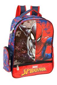 Mochilas Primaria Escolares Spiderman Ruz Original 147178
