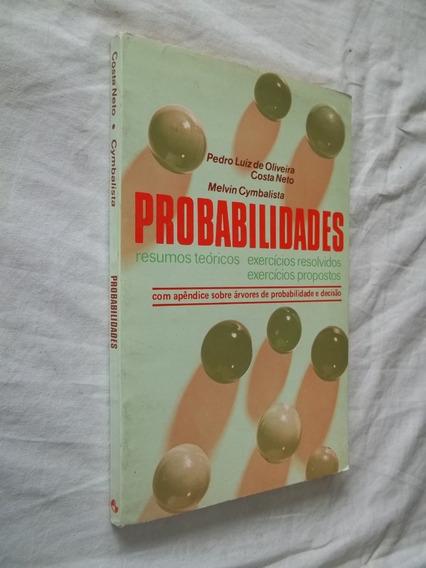 Livro - Probabilidades Pedro Luis De Oliveira Costa Neto