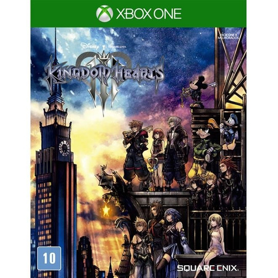 Kingdom Hearts Iii - Xbox One Lacrado