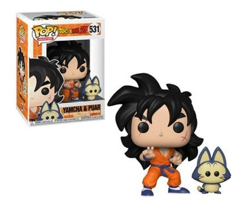 Boneco Funko Pop Dragon Ball Z Yamcha & Puar - #531