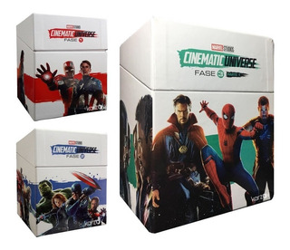 Universo Marvel Fase 1 2 3 Coleccion 17 Peliculas Blu-ray