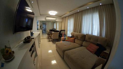 Apartamento Com 3 Dormitórios À Venda, 67 M² Por R$ 319.000,00 - Condomínio Avalon - Hortolândia/sp - Ap0244
