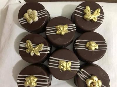 Pães De Mel Decorados Na Casquinha Chocolate Crocante.
