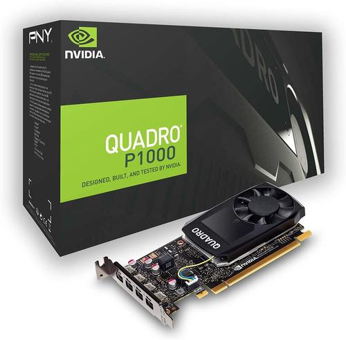 Tarjeta De Video Pny Nvidia Quadro P1000 4gb | Mercado Libre