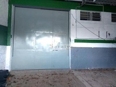 Galpão Comercial Para Locação, Vila Vivaldi, São Bernardo Do Campo. - Ga0006