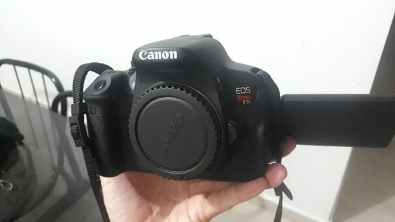 Câmera Fotográfica Canon T5i Mais Lente 18:55 E 50mm Canon