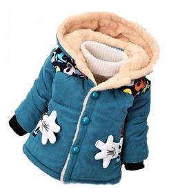 Jaqueta Criança Casaco Frio Capuz Forrado Blusa Infantil