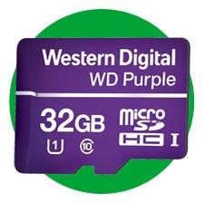 Cartão De Memória 32 Gb Intelbras Western Digital