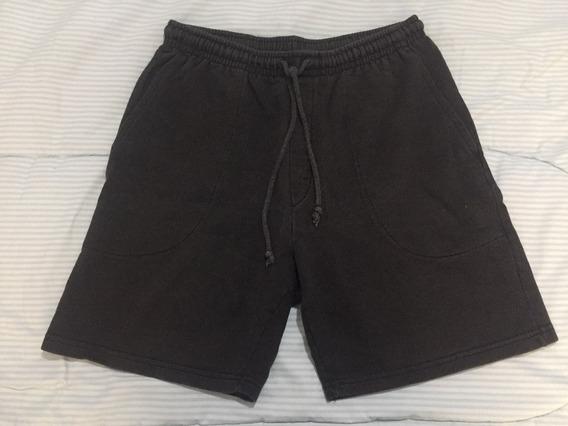 Pantalon Corto Negro Hering Talle L