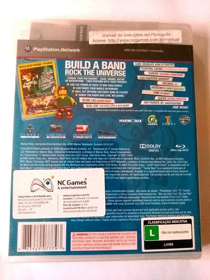 Playstation 3 - Lego Rockband - Original Lacrado