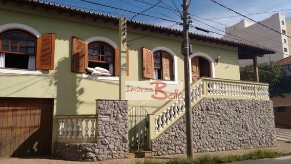 Casa À Venda Ou Locação, Fins Comerciais, 220 M², No Centro De Itatiba/sp - Ca1275