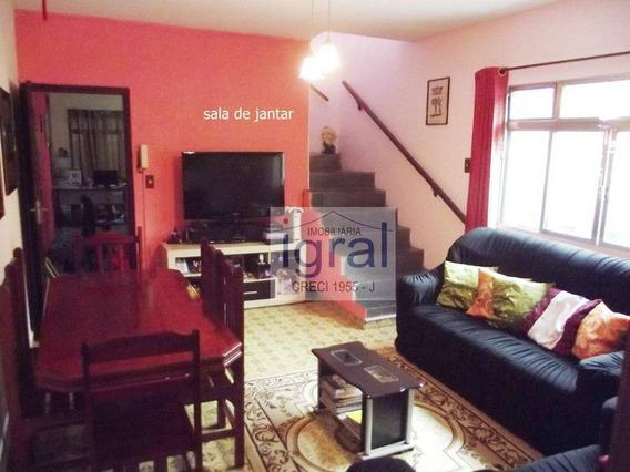 Sobrado Com 3 Dormitórios À Venda, 200 M² Por R$ 600.000 - Jardim Jabaquara - São Paulo/sp - So0085