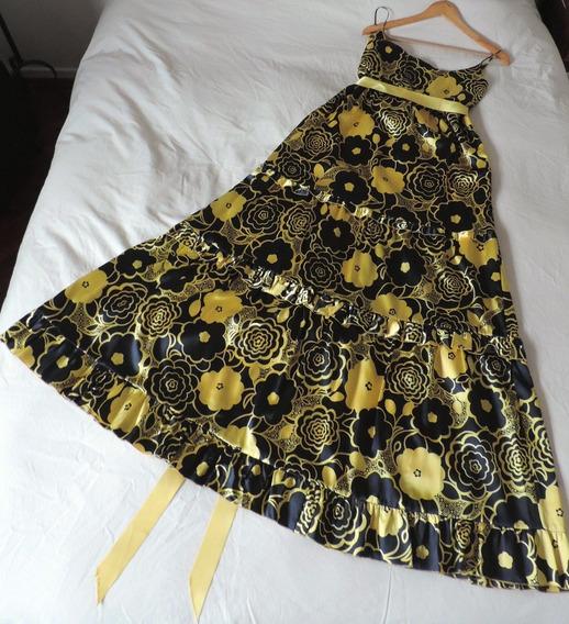 Hermoso Vestido De Fiesta Comprado En España. Se Usó 1 Vez.