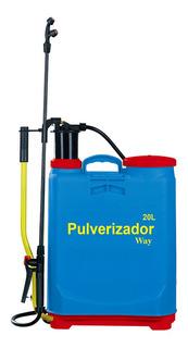 Pulverizador Manual 20 Litros Borrifador De Pressao 4 Bicos Ajustável Profissional Residencial Limpeza Pragas Plantas