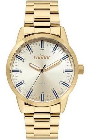 Relógio Condor Masculino Co2035mta/4x Casual Dourado