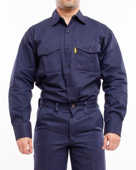 Camisa De Trabajo Pampero Clasica 38 Al 48 Pam1