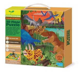 4m Kit Manualidades 3d Puzzle Dinosaurios Cm668