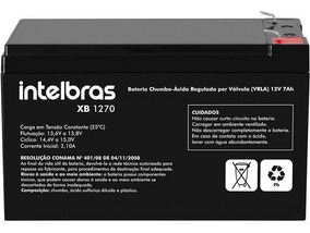 Bateria Selada Nobreak 12v 7a Intelbras Alarme Cerca Eletric