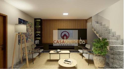 Cobertura Com 1  Suite À Venda, 72 M² Por R$ 596.000 - Anchieta - Belo Horizonte/mg - Co0266