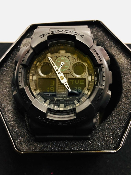 Reloj Casio G-shock Ga-100mb-1acr Original
