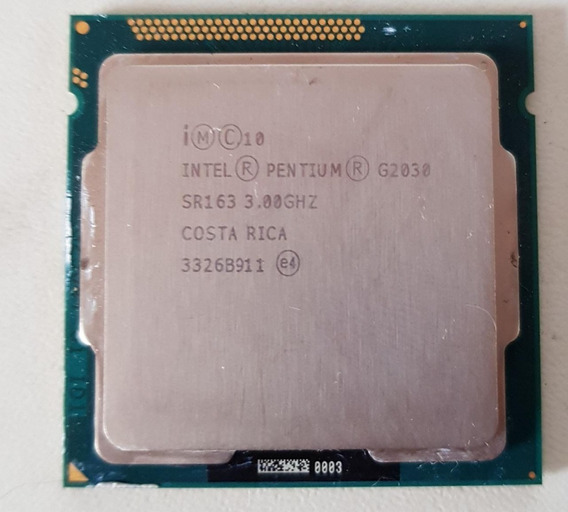 Processador Intel Pentium Dual Core G2030 - 3.0 Ghz Usado