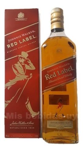 Johnnie Walker Red Label/rojo 1l Si Mercadopago