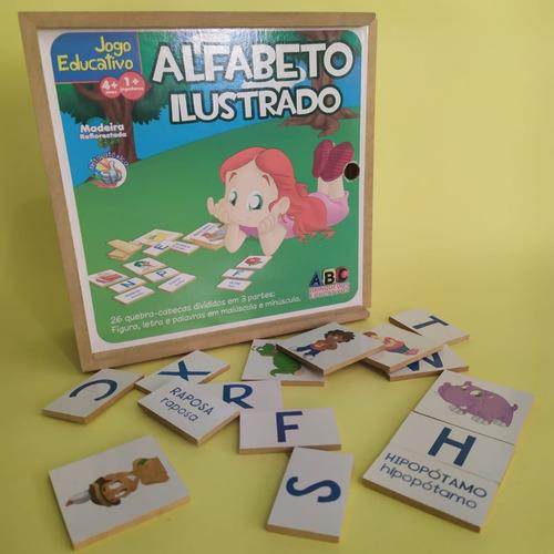 Alfabeto Ilustrado | Brinquedo Educativo