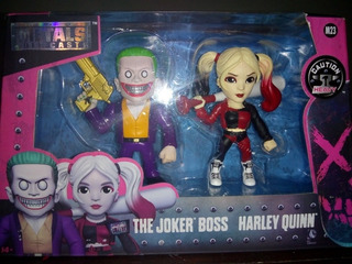 Die Cast Jada The Joker Boss Harley Quinn Zona Retro