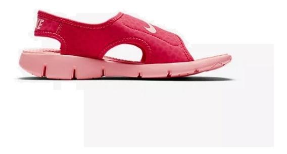 Sandalia Infantil Nike Sunray Adjust 4 Original - Footletr
