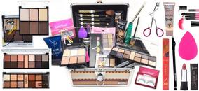 Maleta Kit Maquiagem Profissional Completa