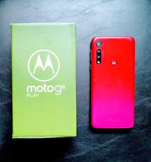 Smartphone Motorola Moto G8 Play 32gb Vermelho Usado