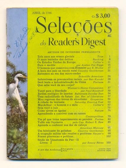 *sll* Revista Seleções Do Readers Digest - Abril De 1946