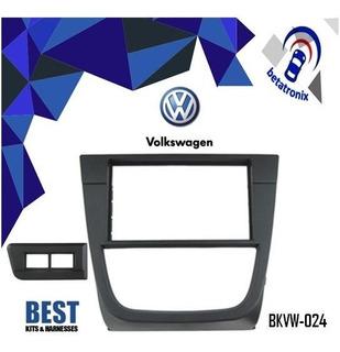 Adaptador Original Radio Volkswagen Gol Golf 5 2008up 2din