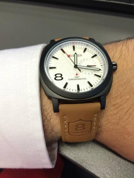 Relógio Masculino Social Curren Casual 8139