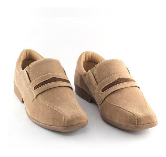 Sapato Beakid Social Masculino Infantil Castanho Nº26 Ao 35