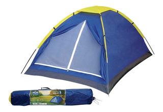 Barraca De Camping Iglu Para 3 Pessoas Mor