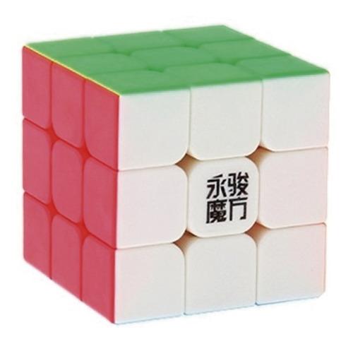 Cubo Rubik 3x3 Moyu Yulong Yj Speedcube Magico Profesional