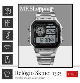 Relógio Pulso Skmei 1335 Original Pronta Entrega Fte. Gratis