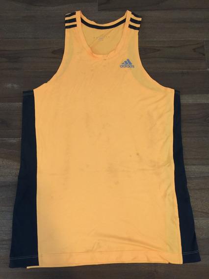 Camiseta\regata adidas Climalite Laranja - Tam P